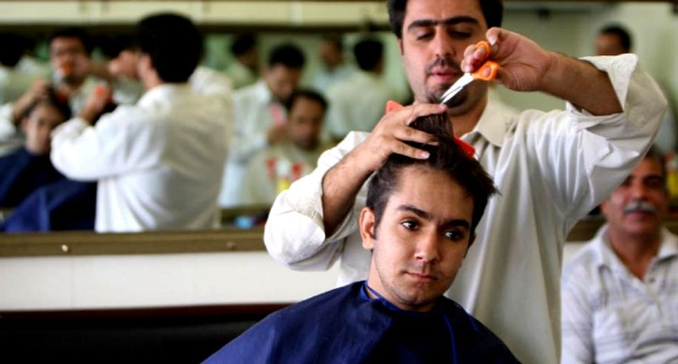 Iran's Barbers Union declares: 'Devil worshipping hairstyles are now forbidden'