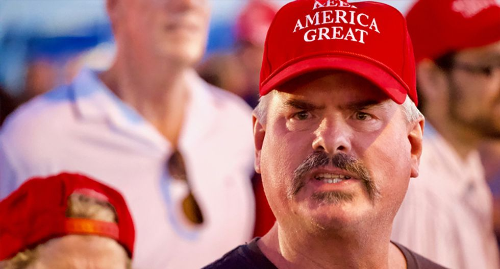 Here's the bizarre formula that drives the robotic behavior of Trump's most cult-like supporters