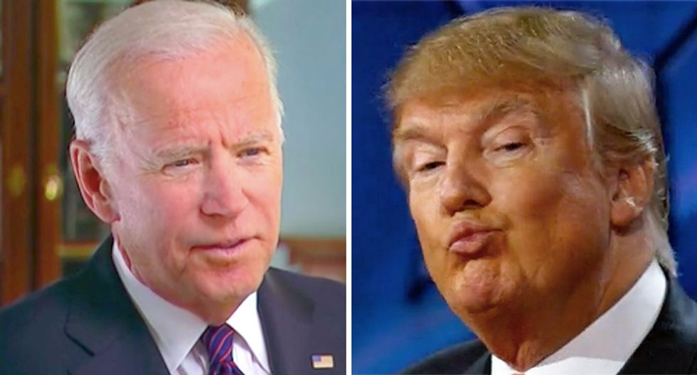 Trump uses Memorial Day to attack Biden and recycle old lies about his coronavirus response