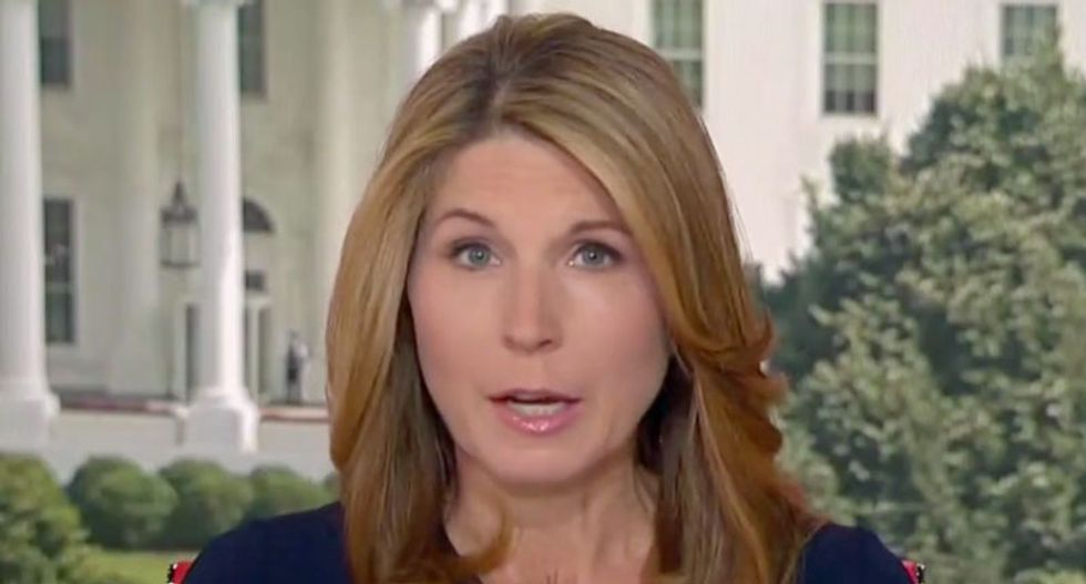 Trump is a 'grievance-obsessed dictator-lover': Nicolle Wallace blasts president's 'off-the-rails' trip to Japan