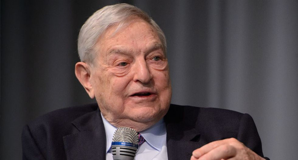 Bomb discovered near home of George Soros — who's been targeted by anti-Semitic conspiracy theories