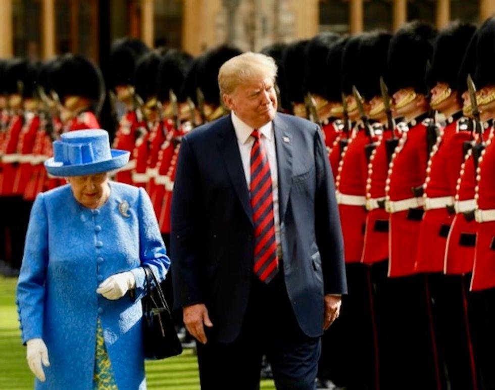 London mayor trolls Trump: He doesn't deserve red-carpet treatment in Britain