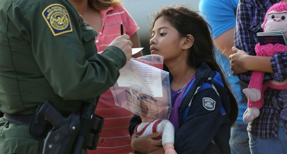Trump administration sued over detention of immigrant children