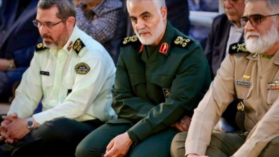 US blacklists Iraq firm as Revolutionary Guard guns front