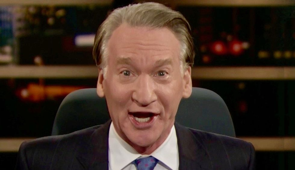 Bill Maher demands we bring back 'confession signs' for people like Sean Hannity and Vladimir Putin