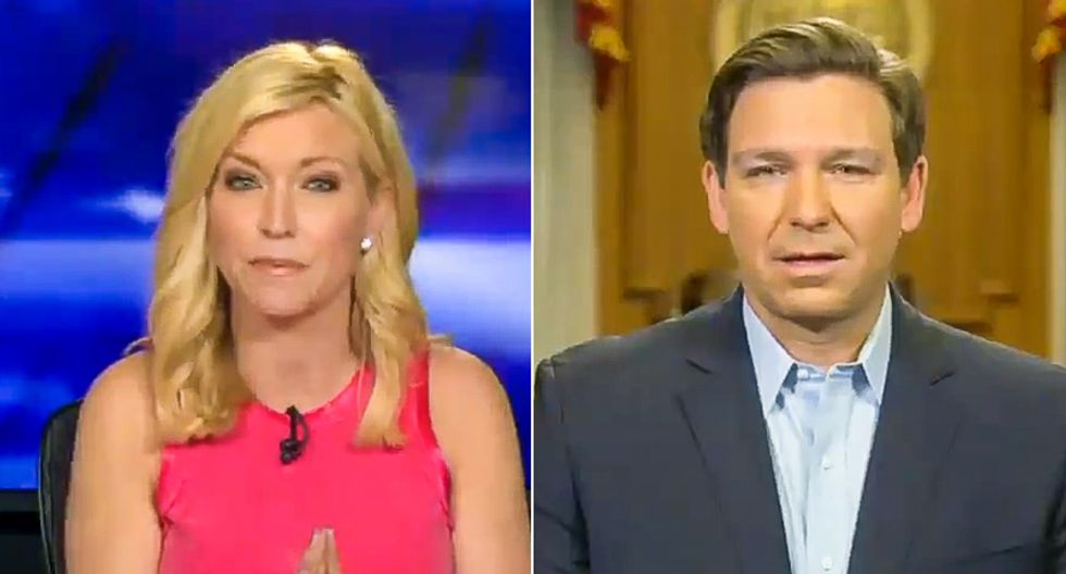 Gov. Ron DeSantis doesn't want infected 'foreigners' to be 'dumped' in Florida and 'using up resources'