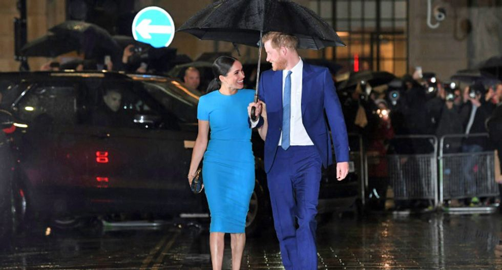 'Megxit': Harry and Meghan formally quit royal life