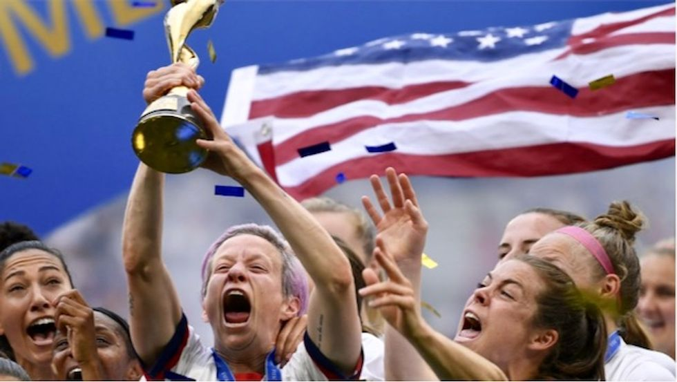 US World Cup winners ready for New York parade