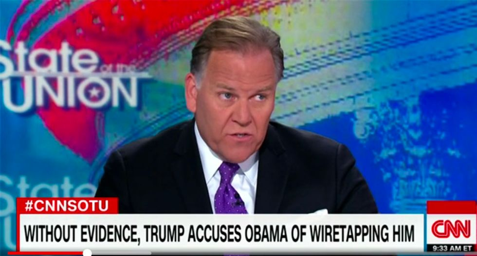 Former intel chair: Putin must be thrilled with Trump's senseless tweets about Obama tapping phones