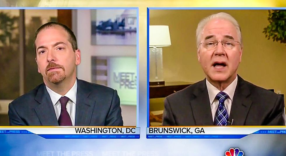 HHS Secretary Tom Price boldly promises 'nobody will be worse off' after Obamacare is repealed