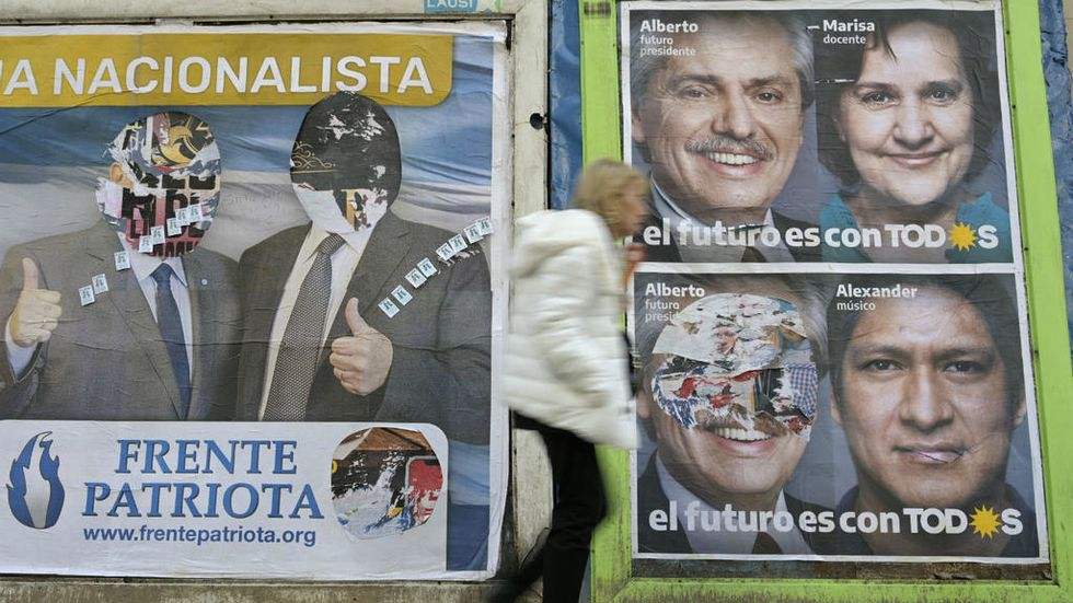 Argentines head to polls in high-stakes presidential primary race