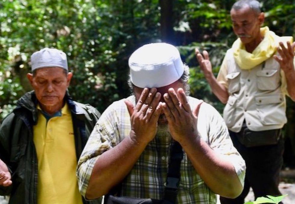 Malaysian shamans help in jungle hunt for missing Franco-Irish teen