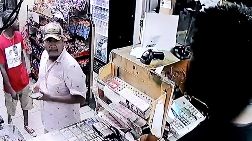 Florida man calls store clerk the N-word after he refuses to sell him booze -- then gets shot by his own gun