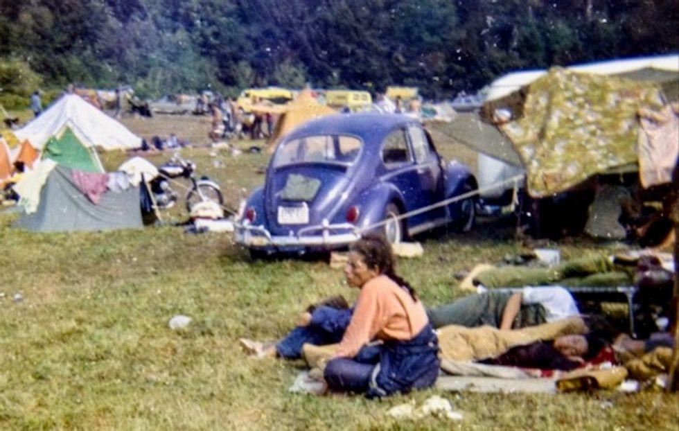 Woodstock, pinnacle of the hippie dream, turns 50