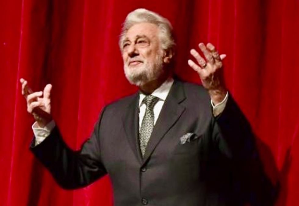 Opera legend Placido Domingo defends himself against sexual harassment claims