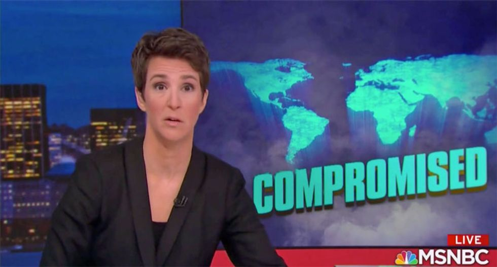 Maddow reveals Trump may allow 'bloodbath' in Hong Kong — because of a condo deal
