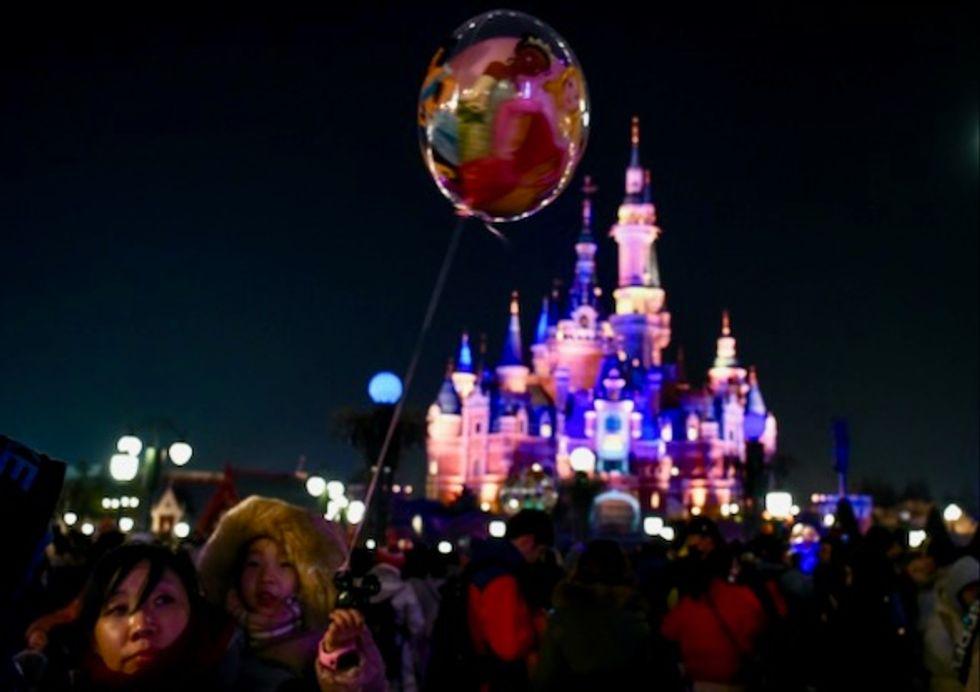 Disneyland Shanghai sued over 'double standards'