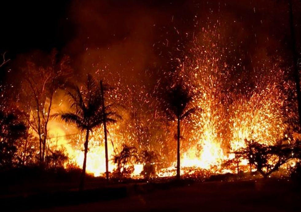 Risk of explosive eruptions for Hawaii's Kilauea volcano: USGS