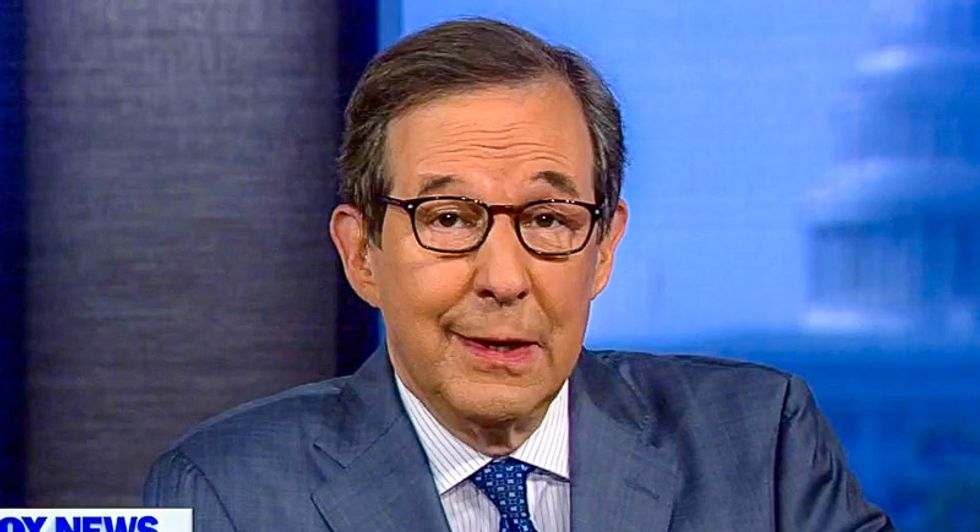 Fox's Chris Wallace mocks network's own contributor for calling impeachment 'unconstitutional'
