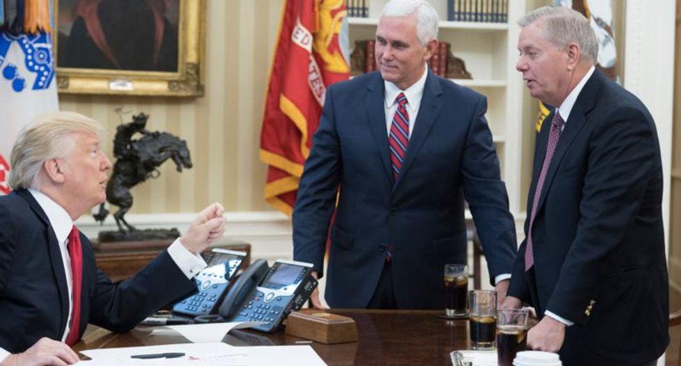 'Smart rats jump a sinking orange ship': Columnist predicts more Republicans will flee Trump