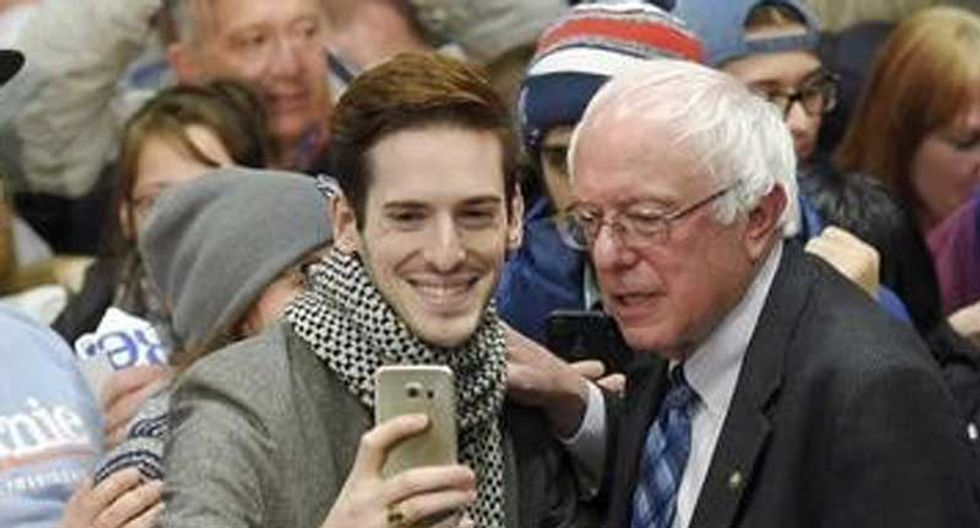 Young voters are embracing Bernie Sanders -- but not democracy