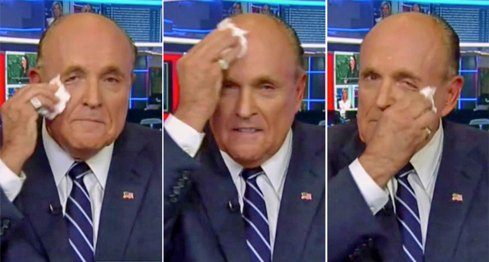 Rudy Giuliani's desperate efforts to clear his name blow up in his face