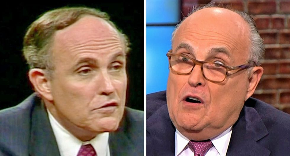 Ex-prosecutor who worked under Giuliani says he's not Rudy anymore -- now he is Trump's TV lawyer
