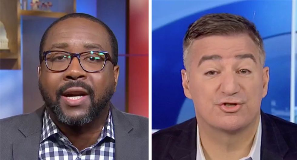 MSNBC panel blows up after Trump defender tries to drag Obama into discussion on president's Ukraine blackmail