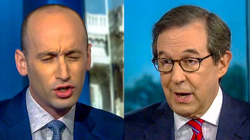 'Enough with the rhetoric': Chris Wallace gives Stephen Miller epic grilling after he blames 'deep state'