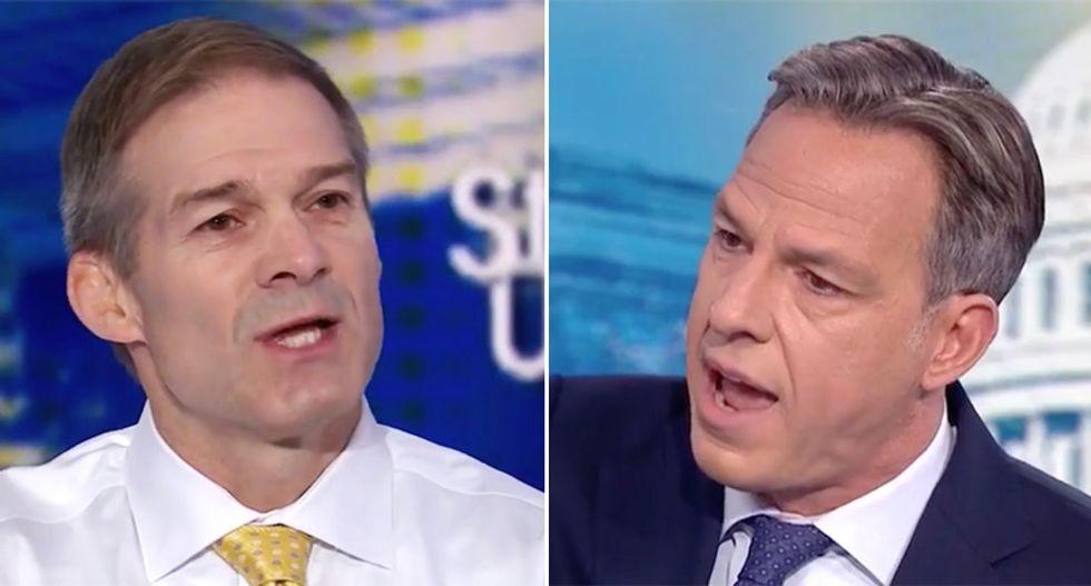 'That's not what happened!': Tapper smacks down raving Jim Jordan spewing lies about Biden investigation