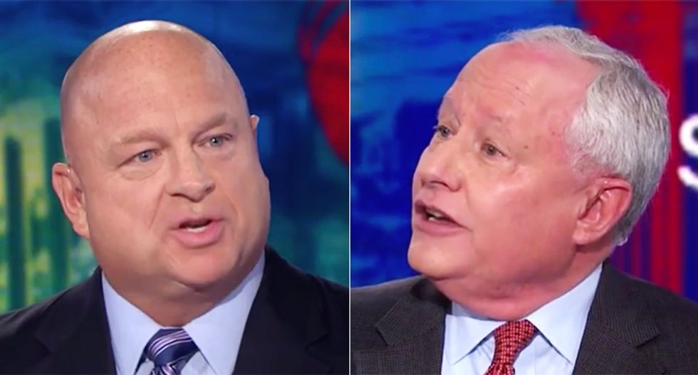 CNN panel goes off the rails after conservative calls Trump defender 'pathetic' for excusing criminality