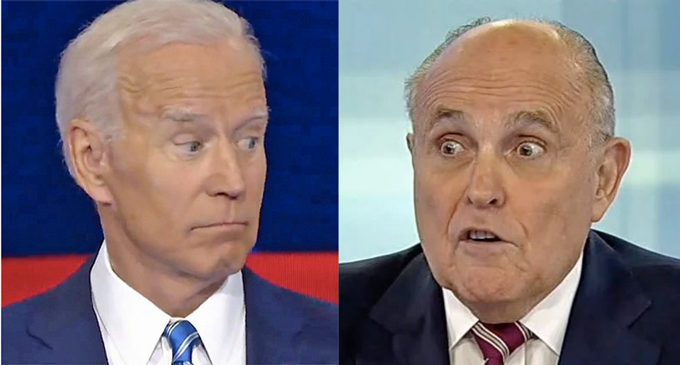 Giuliani will 'knowingly and willingly lie' on TV: Biden campaign demands networks stop giving Rudy a platform