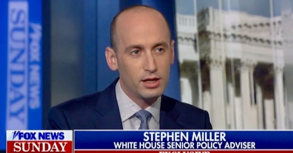 Top Trump aide Stephen Miller destroyed by direct questions on Fox News