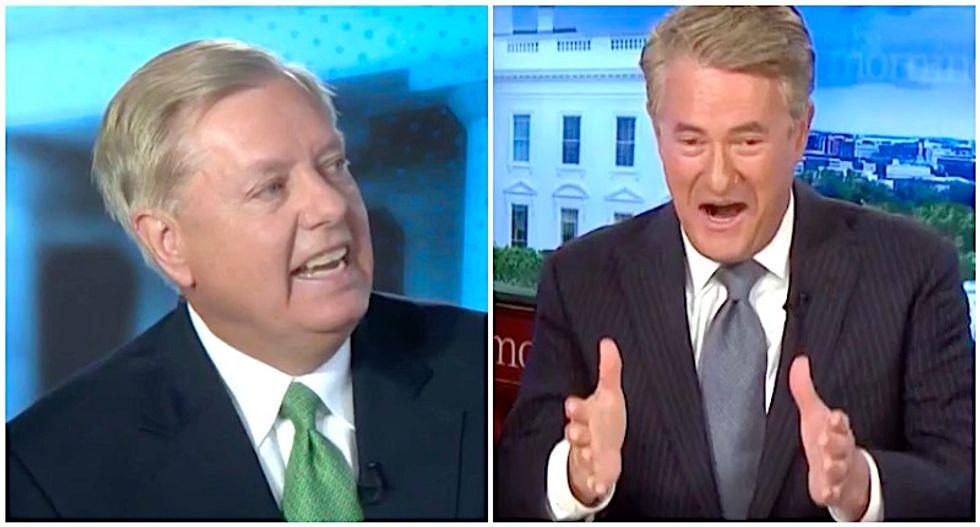 'Ignorant' Lindsey Graham flayed on Morning Joe for epic legal flop
