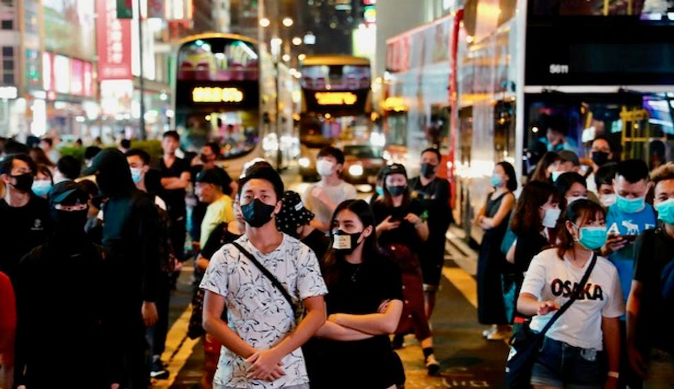 Hong Kong protesters return to streets as transport is paralyzed
