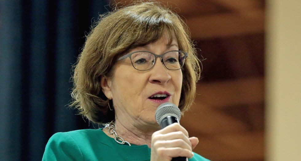 Embattled GOP Senator Susan Collins rips 'completely inappropriate' misconduct by Trump