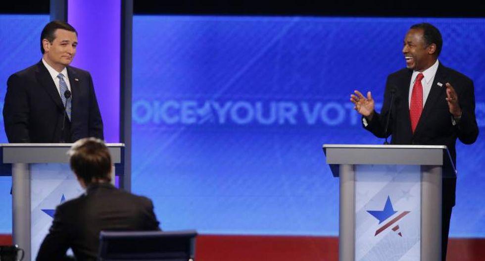 REVEALED: Cruz and Carson held awkward secret meeting -- in a closet