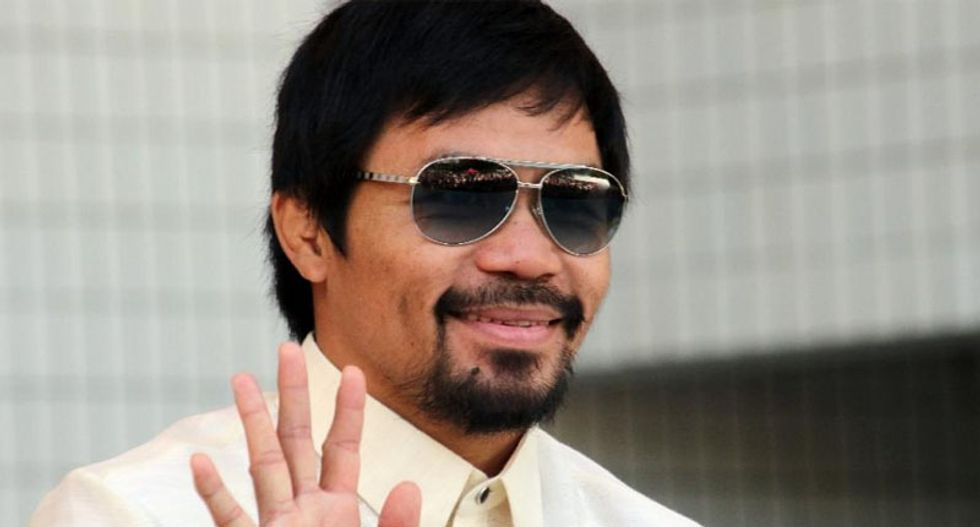 Philippine church defends Manny Pacquiao over anti-gay slurs