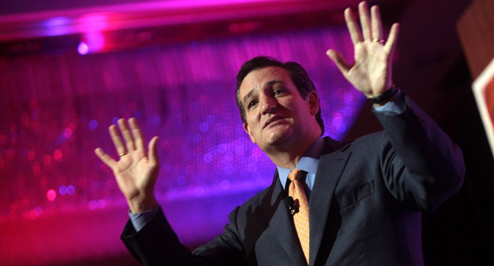 Ted Cruz wins backing from Indiana governor Mike Pence
