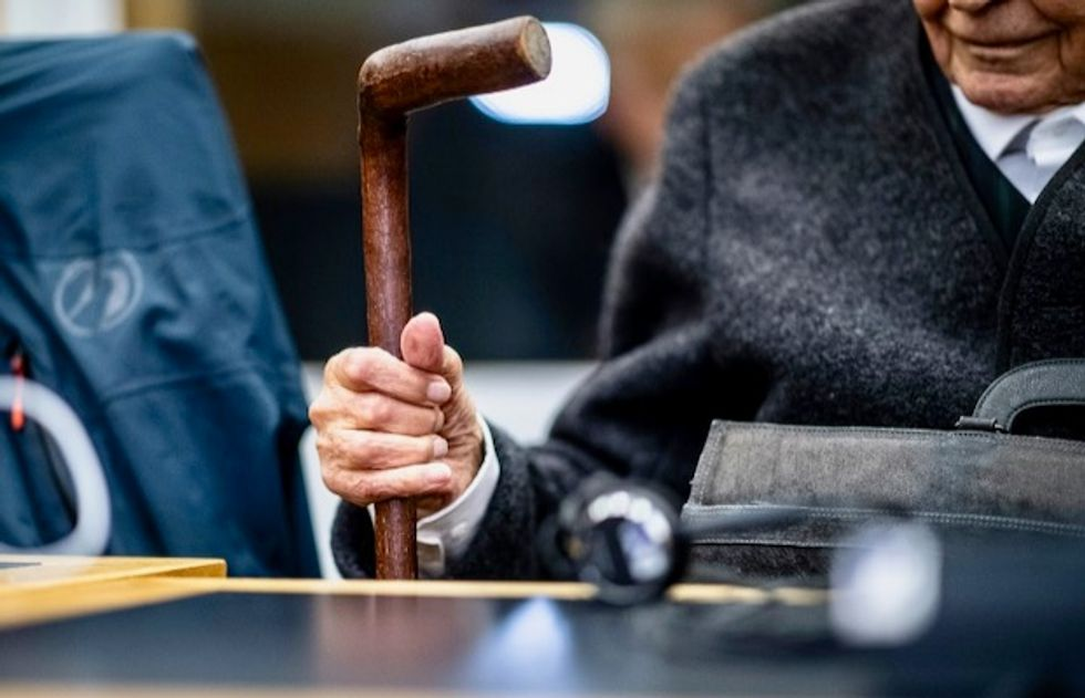 Former SS guard, 93, on trial in Germany for complicity