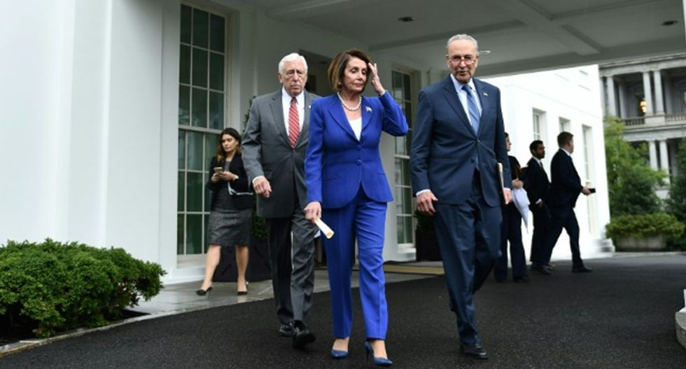 Pelosi asks America to pray for Trump's health after president suffers a 'very serious meltdown'