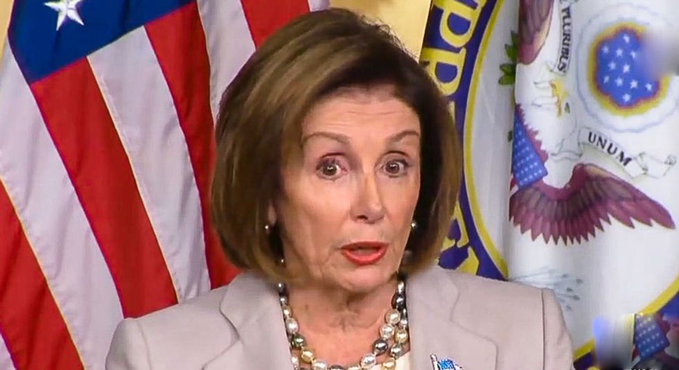 'It just didn't add up': Pelosi says Trump's meltdown was triggered by simple logic