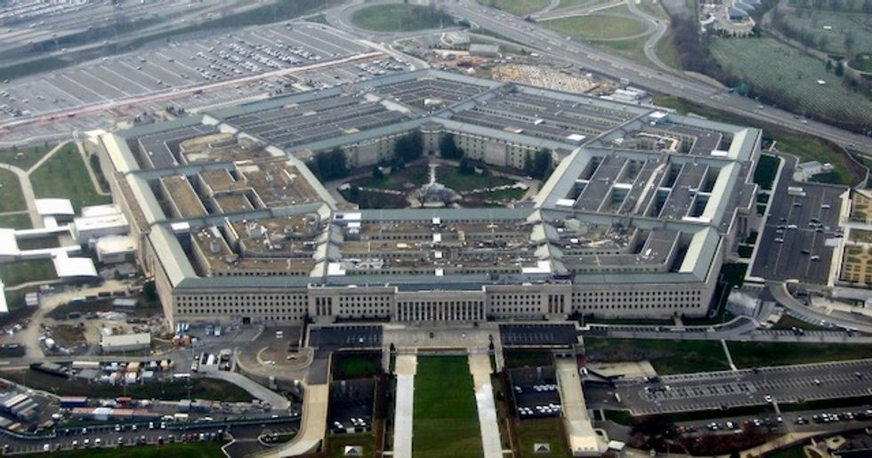 Detail how slashing Pentagon budget could pay for Medicare for All while creating progressive foreign policy Americans want