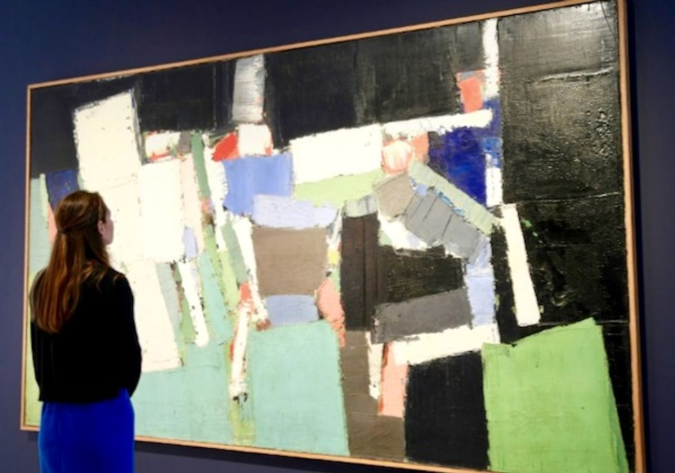 Nicolas de Stael painting sells for record 20 million euros