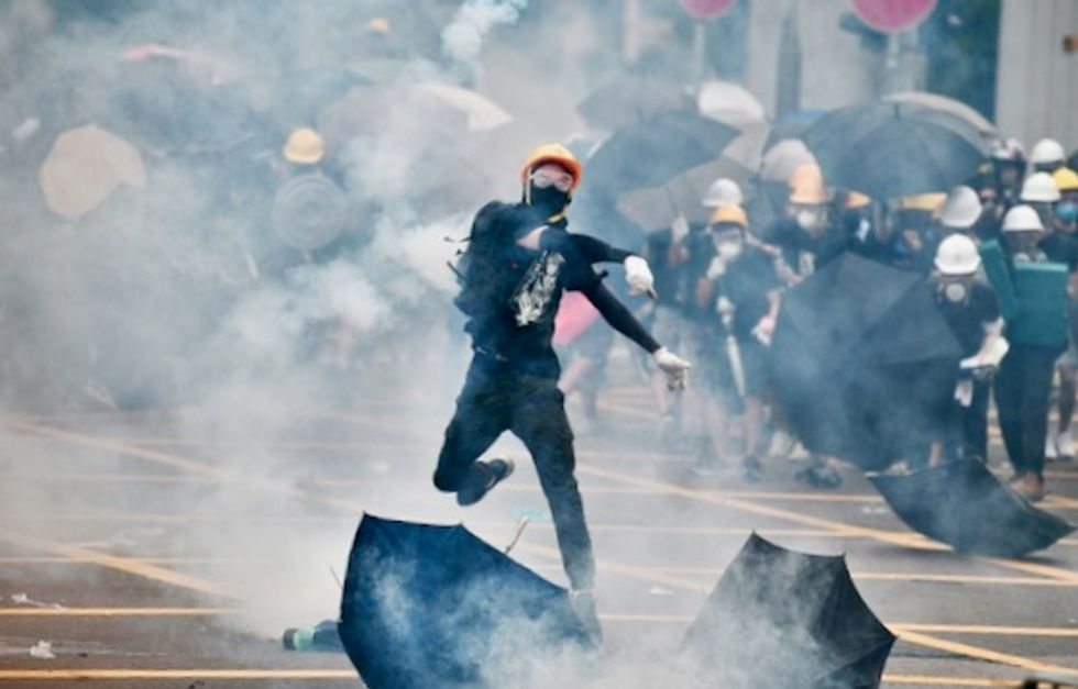 'No chance of retreating': Hong Kong protesters return to streets for another week of unrest