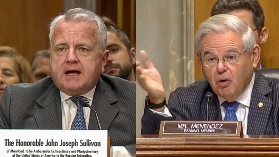 Russia ambassador nominee confirms in open hearing Giuliani ran smear campaign against impeachment witness