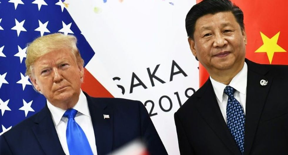 Trump dialing back use of 'Chinese virus' after flattering phone call from China's leader: report