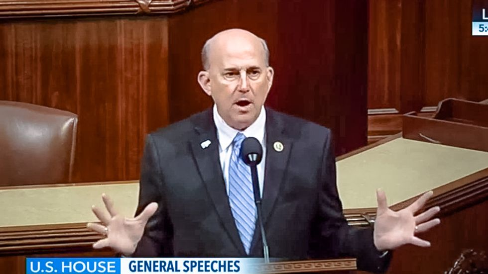 Watch Louie Gohmert bizarrely oppose bill for women scientists: MLK wouldn't 'leave little boys in the ditch'