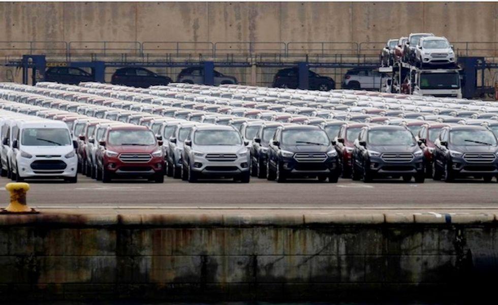 Trump threatens 20 percent US tariff on EU car imports