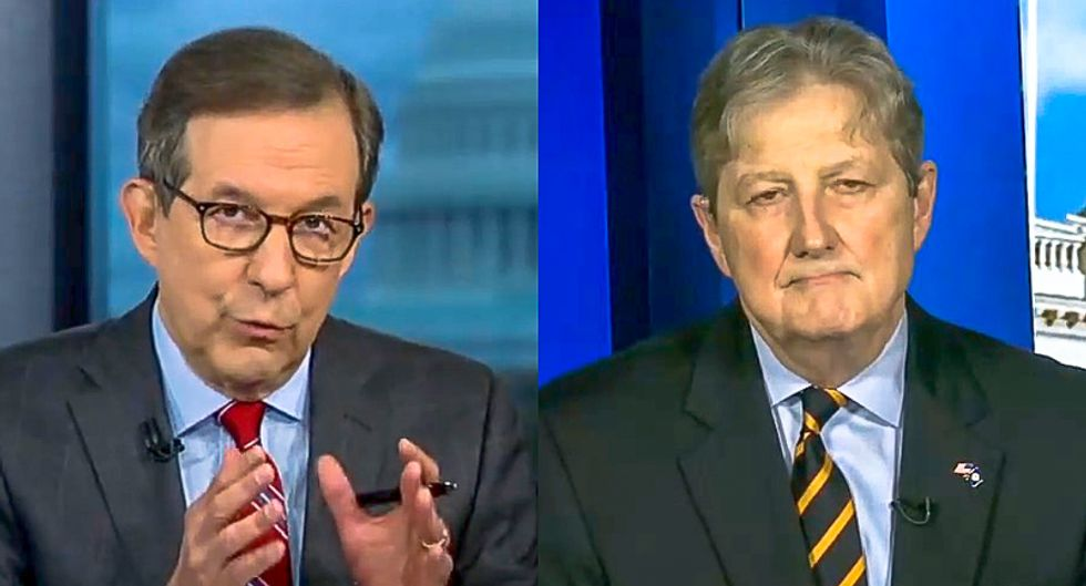 'It was Russia': Chris Wallace gives live fact check to GOP senator who says Ukraine could have hacked election